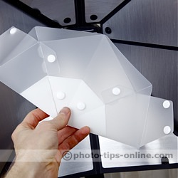 GamiLight SOFT PLUS 43: folded flat