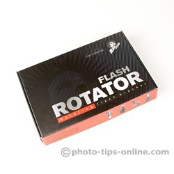 Ray Flash Rotator flash bracket: box, packaging