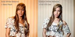 Rogue Color Correction Flash Gel Kit: Full CTO example