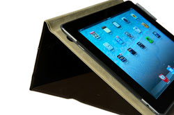 LumiQuest releases BEST CASE scenario iPad case: one of the angled positions