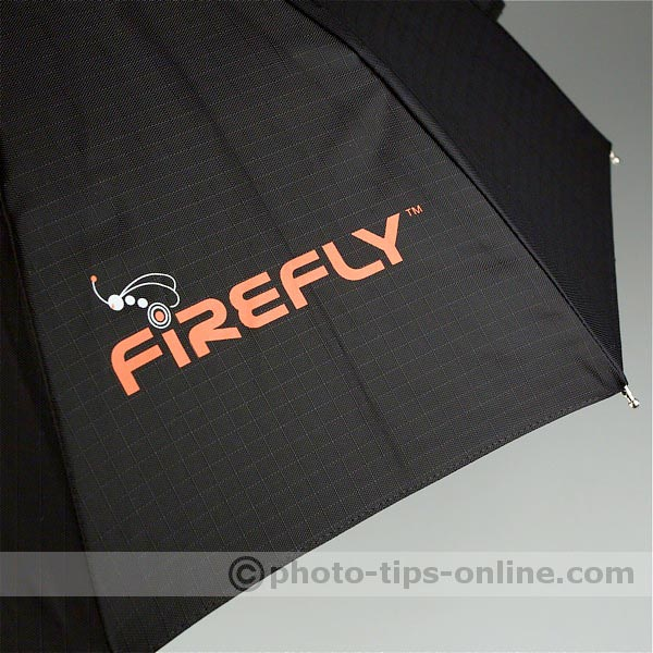Aurora Firefly Beauty Box flash diffuser: logo