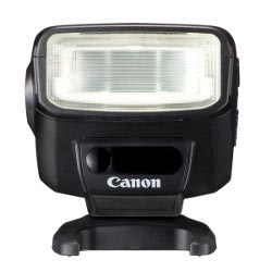 Canon Speedlite 270EX II flash: front view, wireless slave sensor