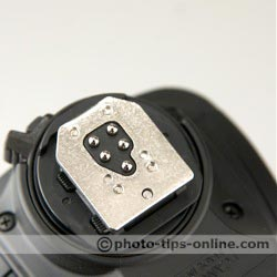 Canon Speedlite 430EX II flash: pins