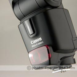 Canon Speedlite 430EX II flash: infrared receiver