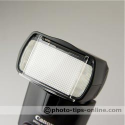 Canon Speedlite 430EX II flash: wide angle diffuser