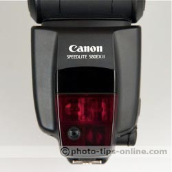 Canon Speedlite 580EX II flash: body