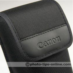 Canon Speedlite 580EX II flash: pouch logo