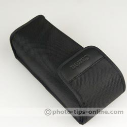 Canon Speedlite 580EX II flash: pouch/case