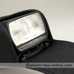 Canon Speedlite 580EX II flash: in the case
