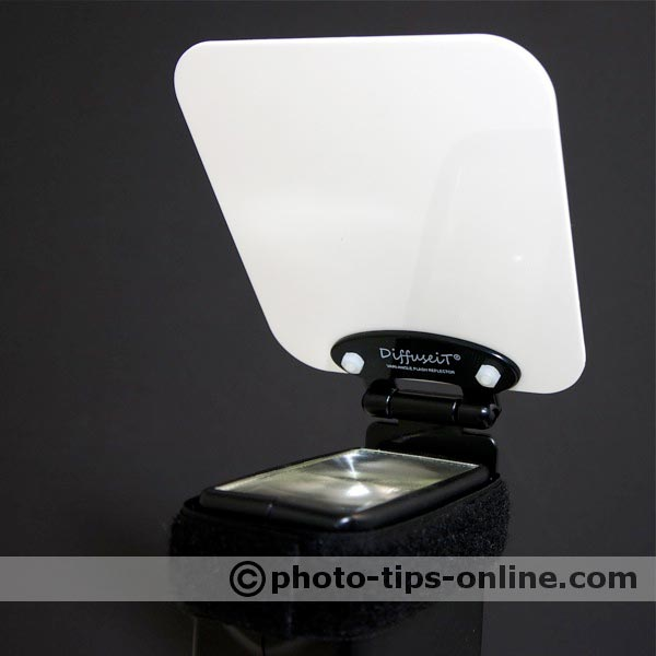 DiffuseiT flash reflector