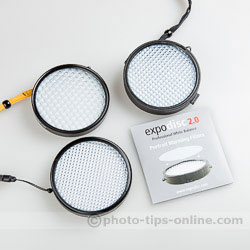 ExpoDisc 2.0: compared to original ExpoDisc Neutral and Portrait