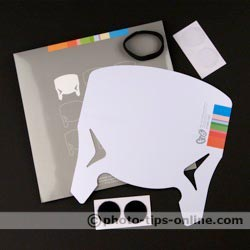 F16 P45A-001 flash reflector: full package