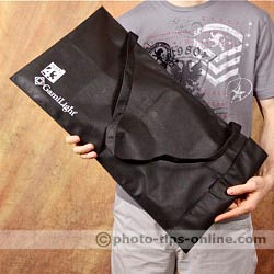 GamiLight SQUARE 43 softbox: included carrying bag