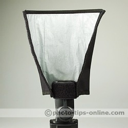 Honl Photo Speed Reflector/Snoot: on narrow side