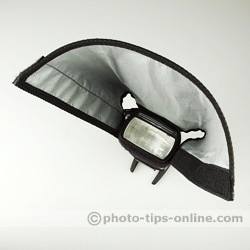 Honl Photo Speed Reflector/Snoot: top view