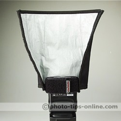 Honl Photo Speed Reflector/Snoot: on wide side