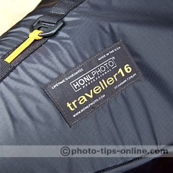 Honl Photo traveller16 softbox: logo, emblem