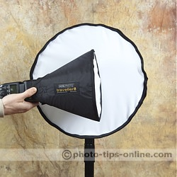 Honl Photo traveller16 softbox: compared to traveller8 softbox