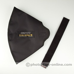 Honl Photo traveller8 Softbox: folded flat, included strap