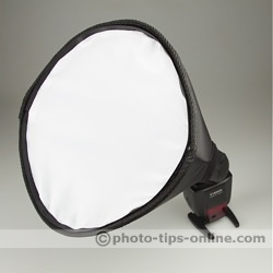Honl Photo traveller8 Softbox: front diffusing screen