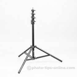 Karamy KLS-4220AL light stand: collapsed to the minimum height