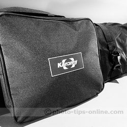 Karamy KSB-KB105 lighting kit bag: external compartment