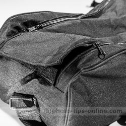 Karamy KSB-KB105 lighting kit bag: zippers