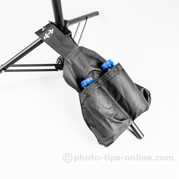 Karamy KAC-LB1 Sandbag: used as a saddle bag