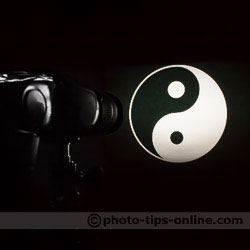 Light Blaster: Yin-Yang Symbol, from Creative Kit