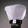 LumiQuest ProMax System flash diffuser: diffusing screen attached