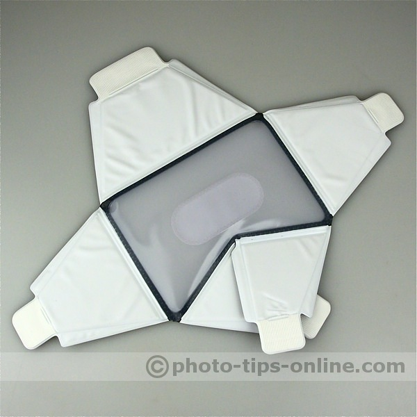 LumiQuest Softbox: open flaps