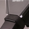 LumiQuest Softbox III flash diffuser: secure fit