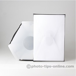 LumiQuest Softbox LTp flash diffuser: compared to Speedlight Pro Kit 6 diffuser