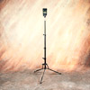 LumoPro Ultra Compact Light Stand: using with a speedlight, highest position