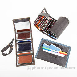 MagGel Wallet vs. Rogue vs. Honl Photo, open