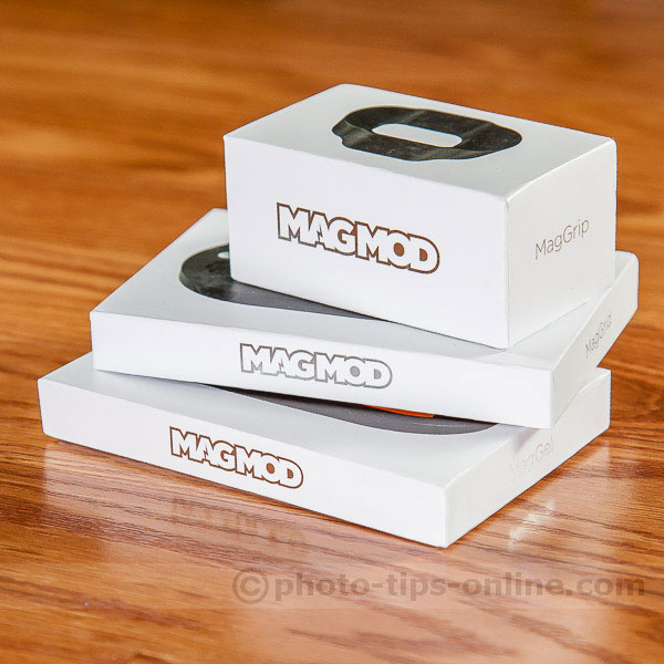 MagMod Basic Kit: packaging