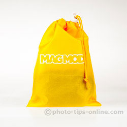 MagMod Basic Kit: carrying pouch