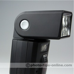 Metz Mecablitz 58 AF-1 flash: head release button