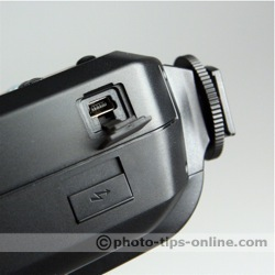 Metz Mecablitz 58 AF-1 flash: USB port