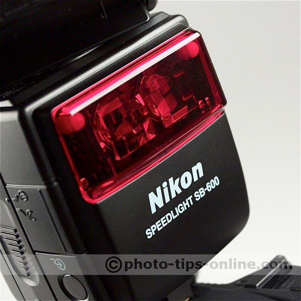 Nikon Speedlight SB-600 flash: autofocus assist emitter