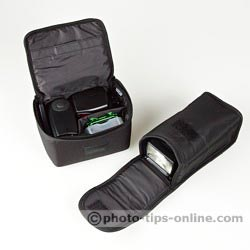 Nikon Speedlight SB-700 vs. Nikon Speedlight SB-600: flashes and all accessory are in the cases