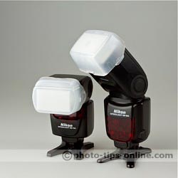 Nikon Speedlight SB-700 vs. Nikon Speedlight SB-900: included diffusion domes