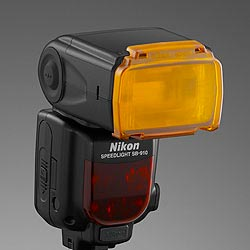 Nikon Speedlight SB-910: hard-type color correction filters