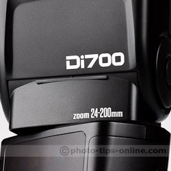 Nissin Di700 flash: Di700 badge
