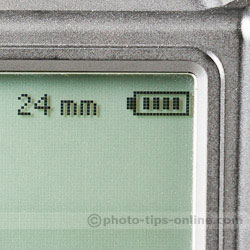 Nissin Di866 II vs. Phottix Mitros: battery level indicator