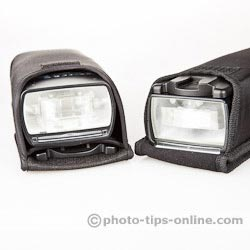 Nissin Di866 II vs. Canon Speedlite 580EX II: carrying cases