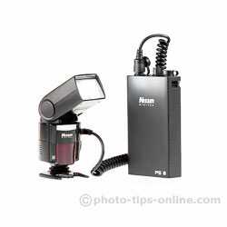 Nissin PS 8 Power Pack: firing Nissin Di866 II