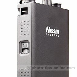 Nissin PS 8 Power Pack: battery release