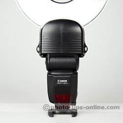 Orbis Ring Flash adapter: mounted on Canon Speedlite 580EX II
