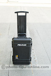 Pelican 1510SC Case: slide-out handle